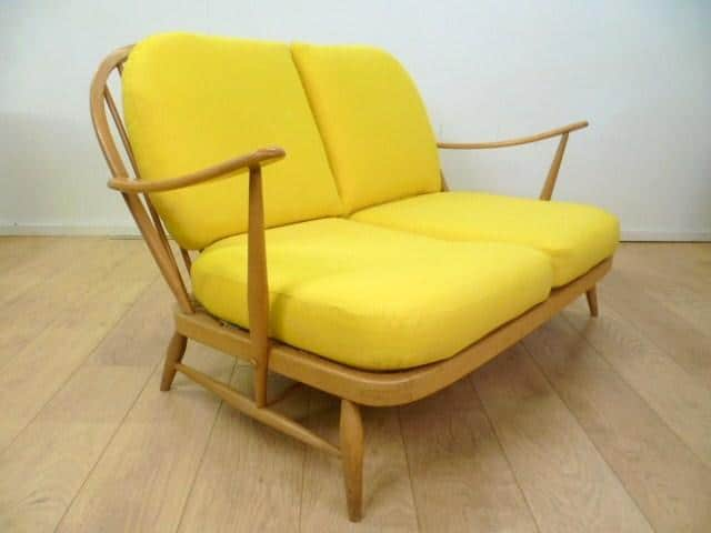 1960s Ercol Two Seater Sofa Mark Parrish Mid Century Modern