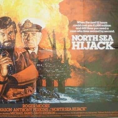 north sea hijack vintage poster