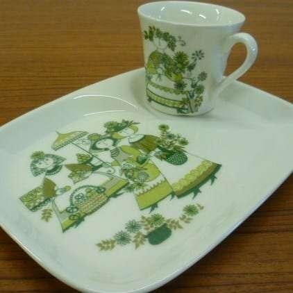 Figgjo Flint breakfast plate
