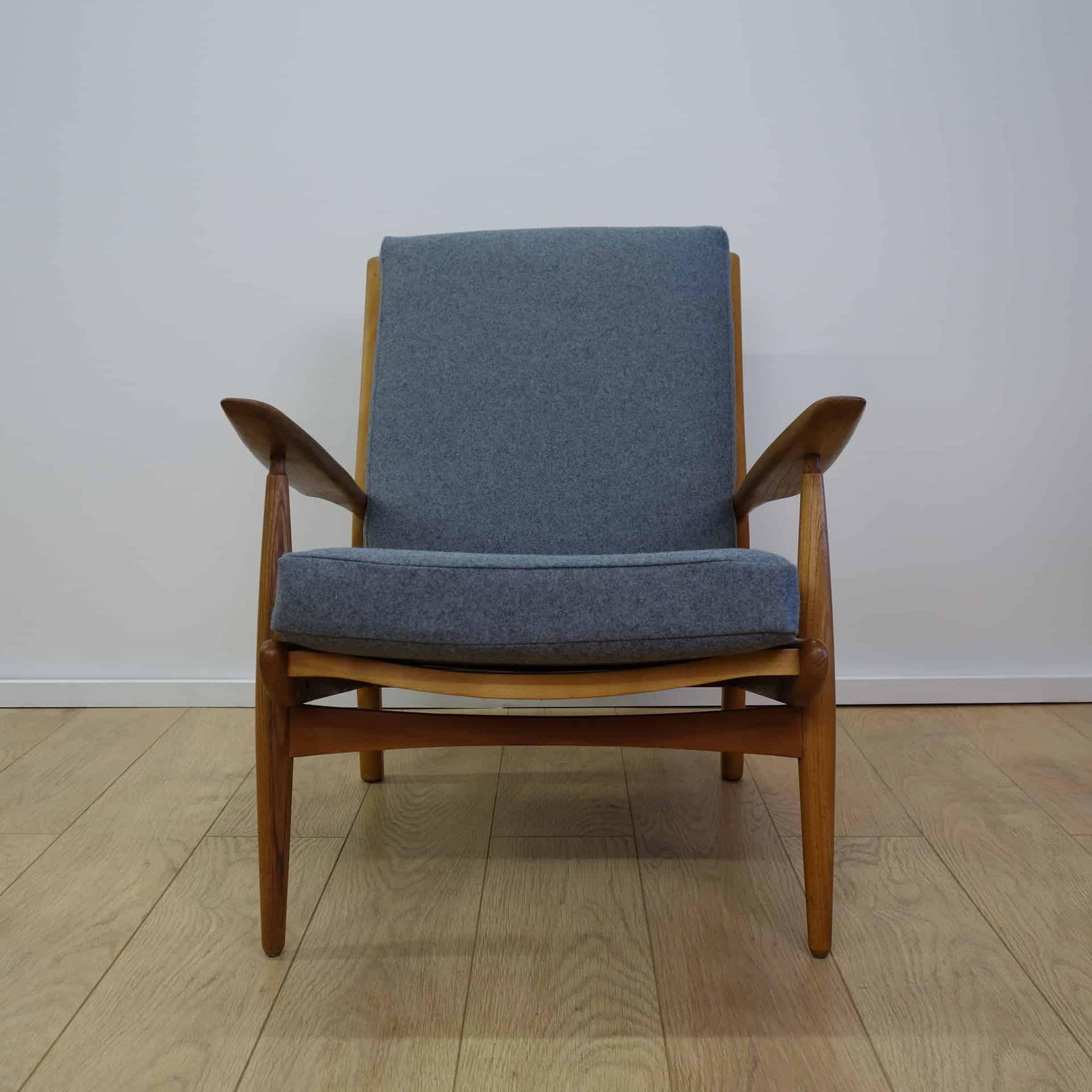 1960s Elm Armchair By Skandart Mark Parrish Mid Century