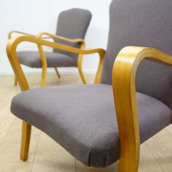 A pair of 1950s armchairs by Eric Lyons