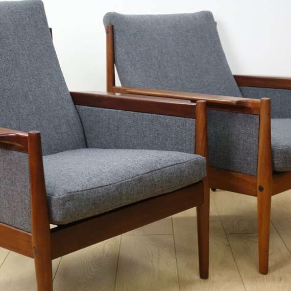 midcentury arm chairs