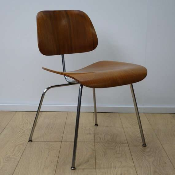 Early DCM chair by Charles Eames