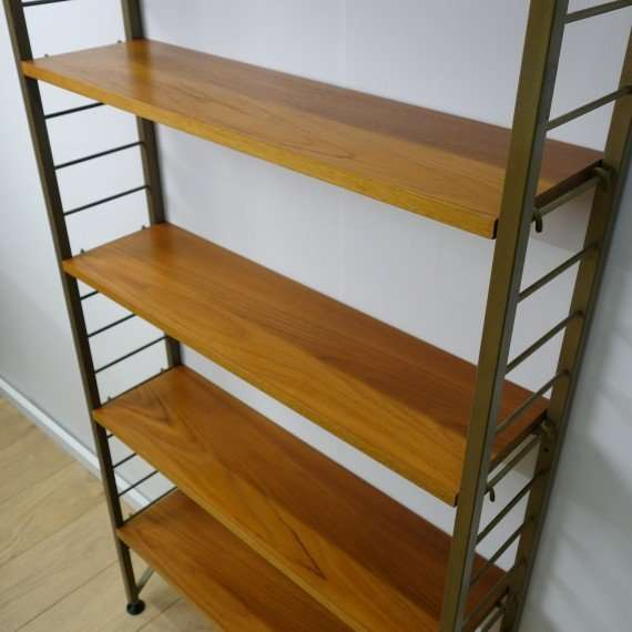retro book shelves