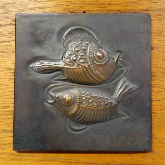 Pisces wall plaque
