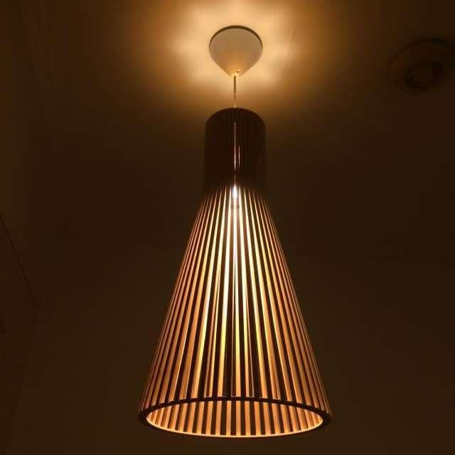 Secto 4200 Ceiling Birch Light Mark Parrish Mid Century Modern