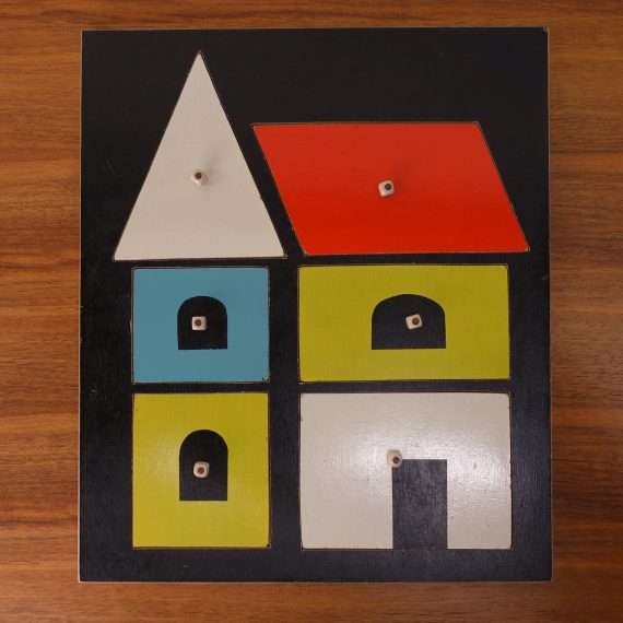 1950s Childrens puzzle house