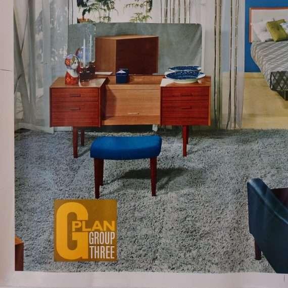 Original 60s G Plan advertising poster
