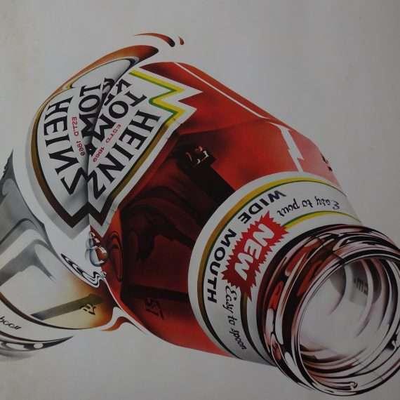 1970s Heinz print by Michael English