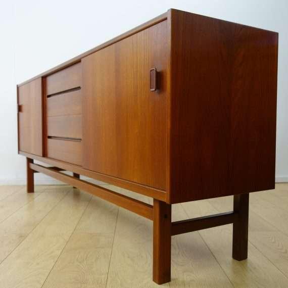 1960s teak sideboard by Nils Jonsson