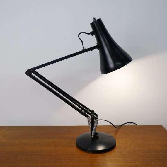 1970s model 90 black anglepoise lamp