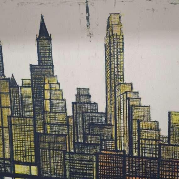 New York by Bernard Buffet