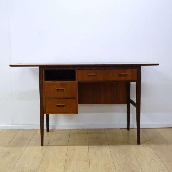 1960s British teak extending desk
