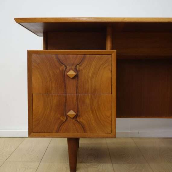 1950s rosewood desk by Christopher Heal