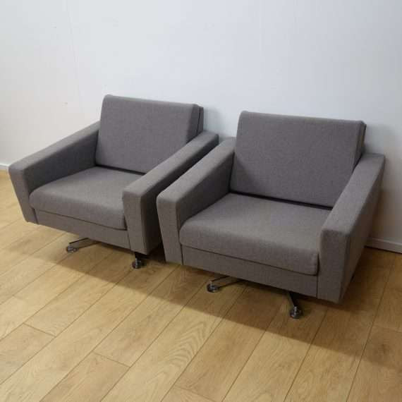 retro armchairs swivel