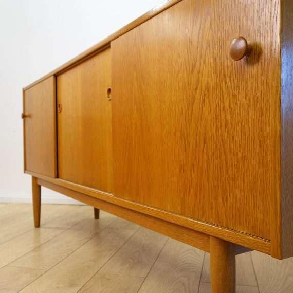 60s oak sideboard by Troeds Sweden