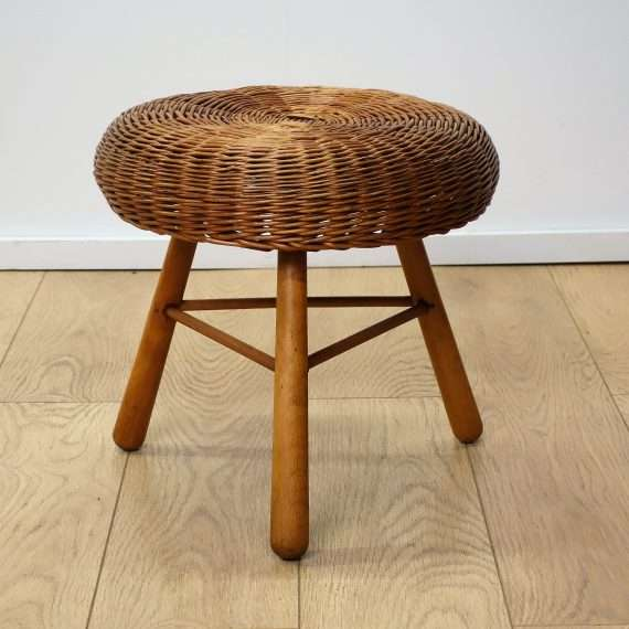 wicker stool tony paul