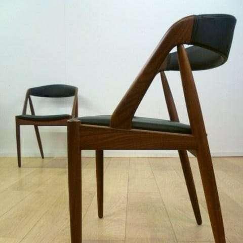 Eight Kai Kristiansen dining chairs
