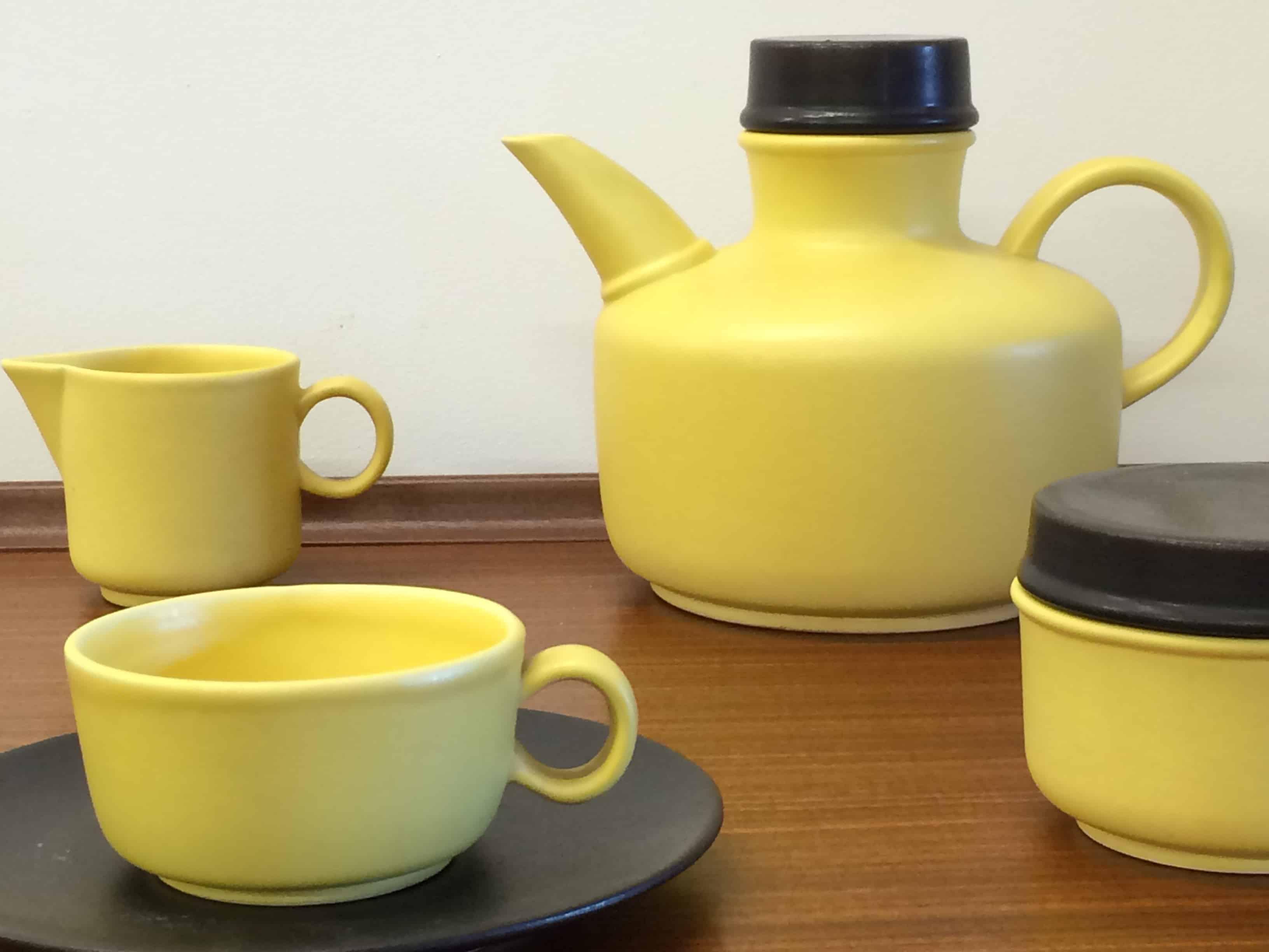 1950s Salerno coffee set