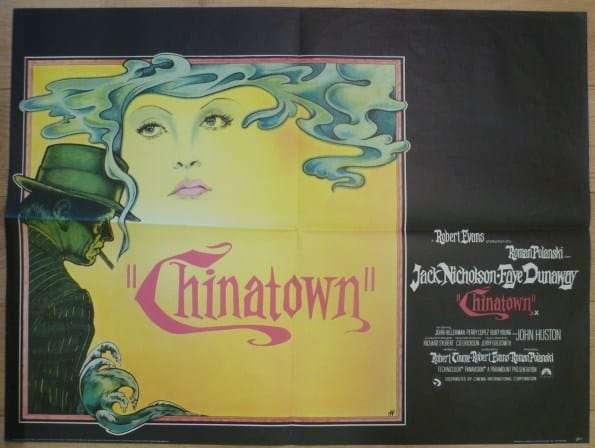 Chinatown film poster