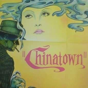 Vintage Chinatown film poster