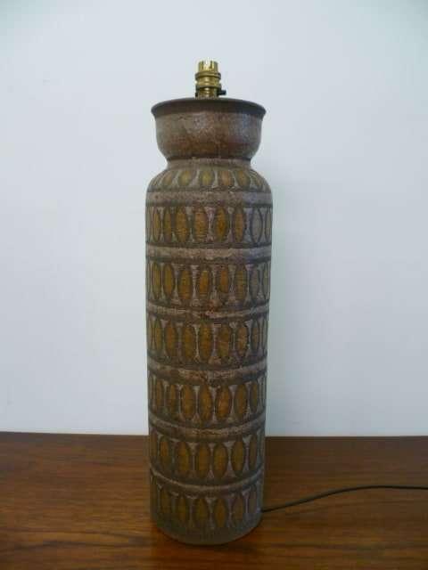 1960s Italian ceramic lamp base