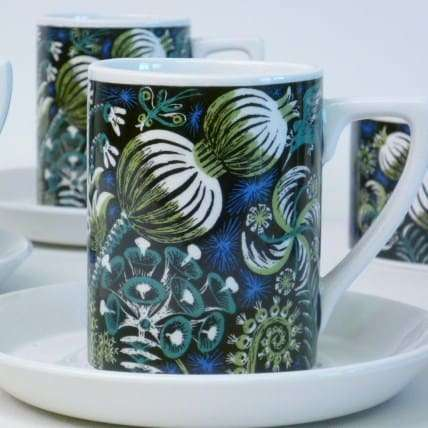 Portmerion Magic Garden coffee set