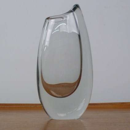 Stromberg glass vase