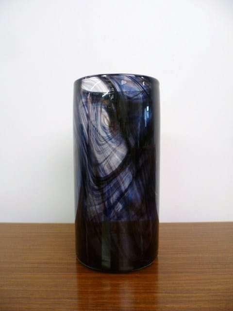 Whitefriars purple streaky Vase