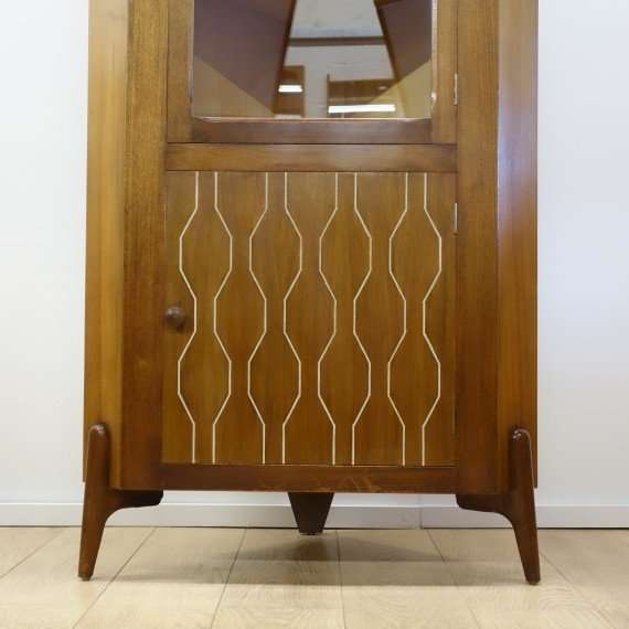 1950s corner cabinet by Everest