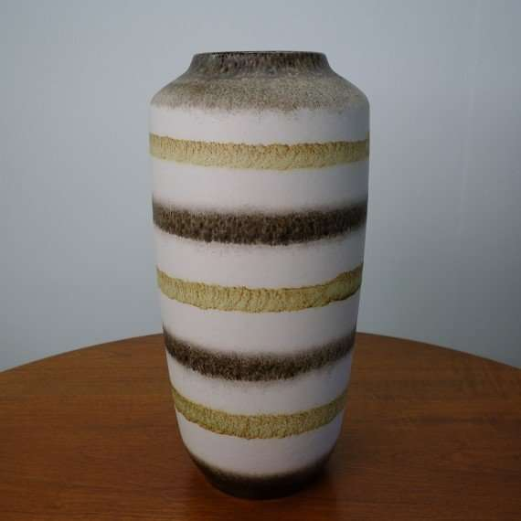 large 1960s West German vase