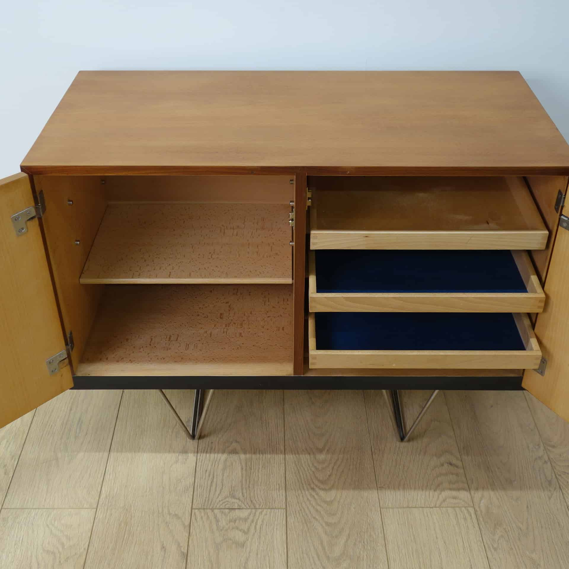 small s range stag sideboard with 2 doors