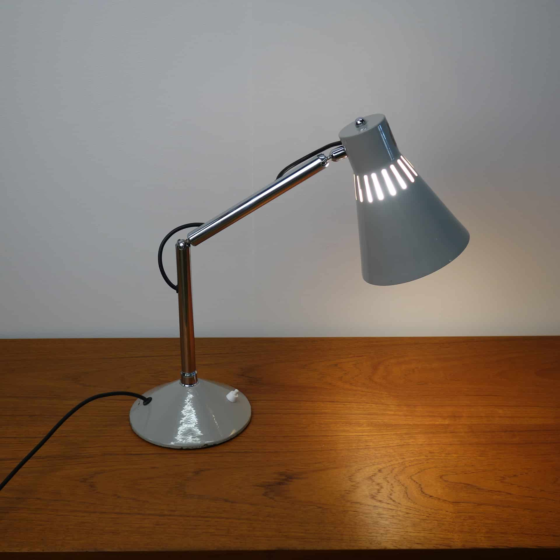 1950s adjustable desk lamp by Pifco
