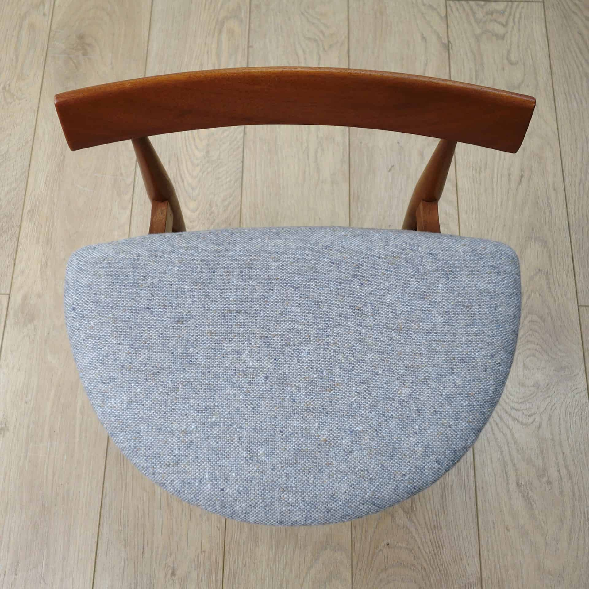 60s Greaves and thomas dressing table chair