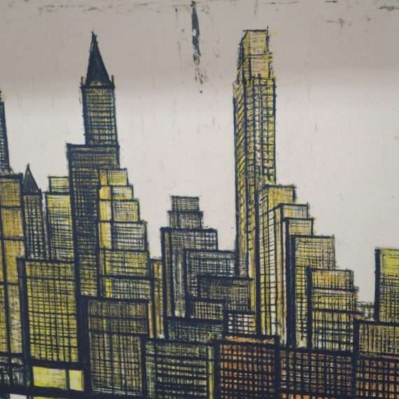 New York by Bernard Buffet