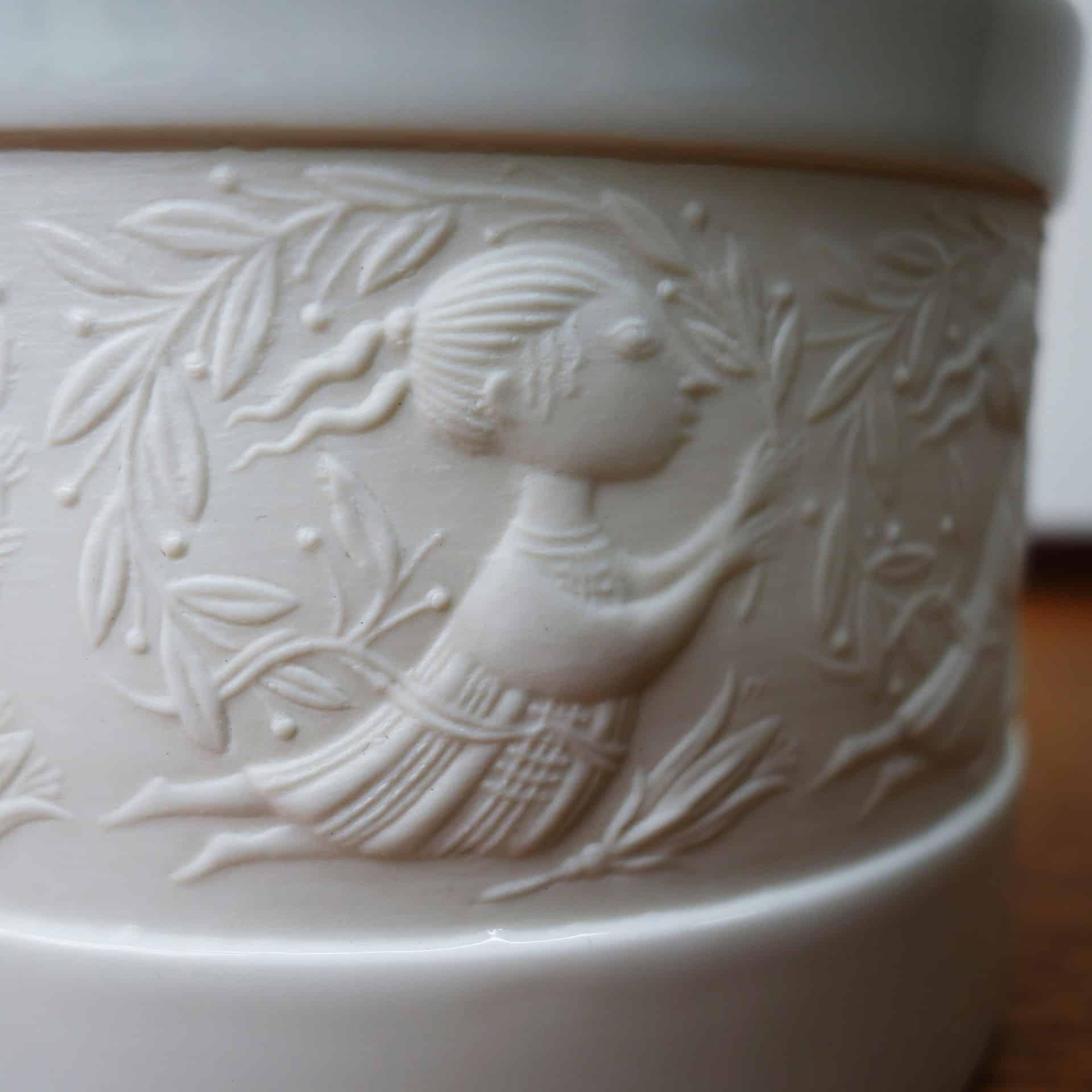 rosenthal studio line pot by bjorn wiinblad