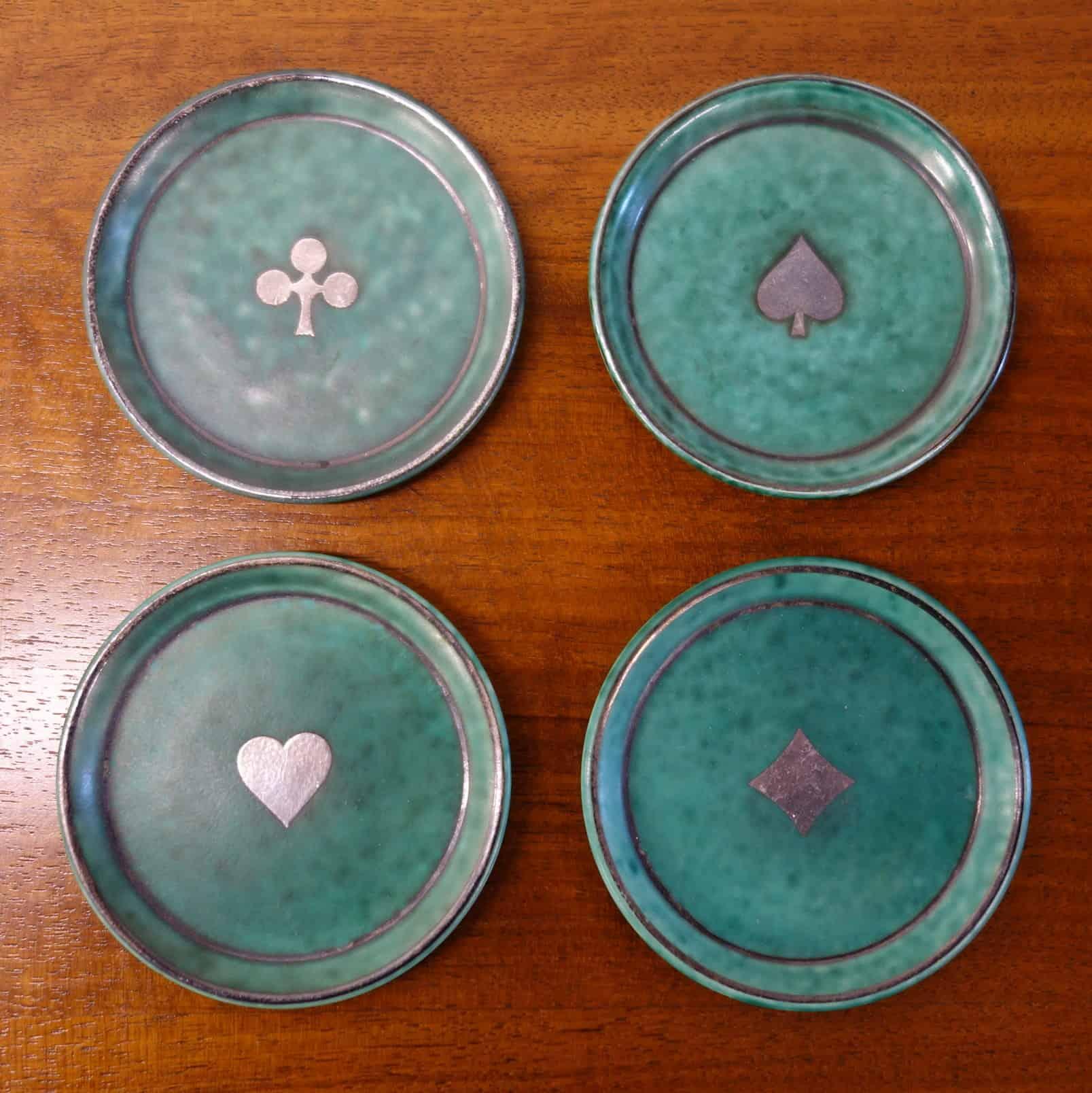 Argenta card symbol dishes by Gustavsberg