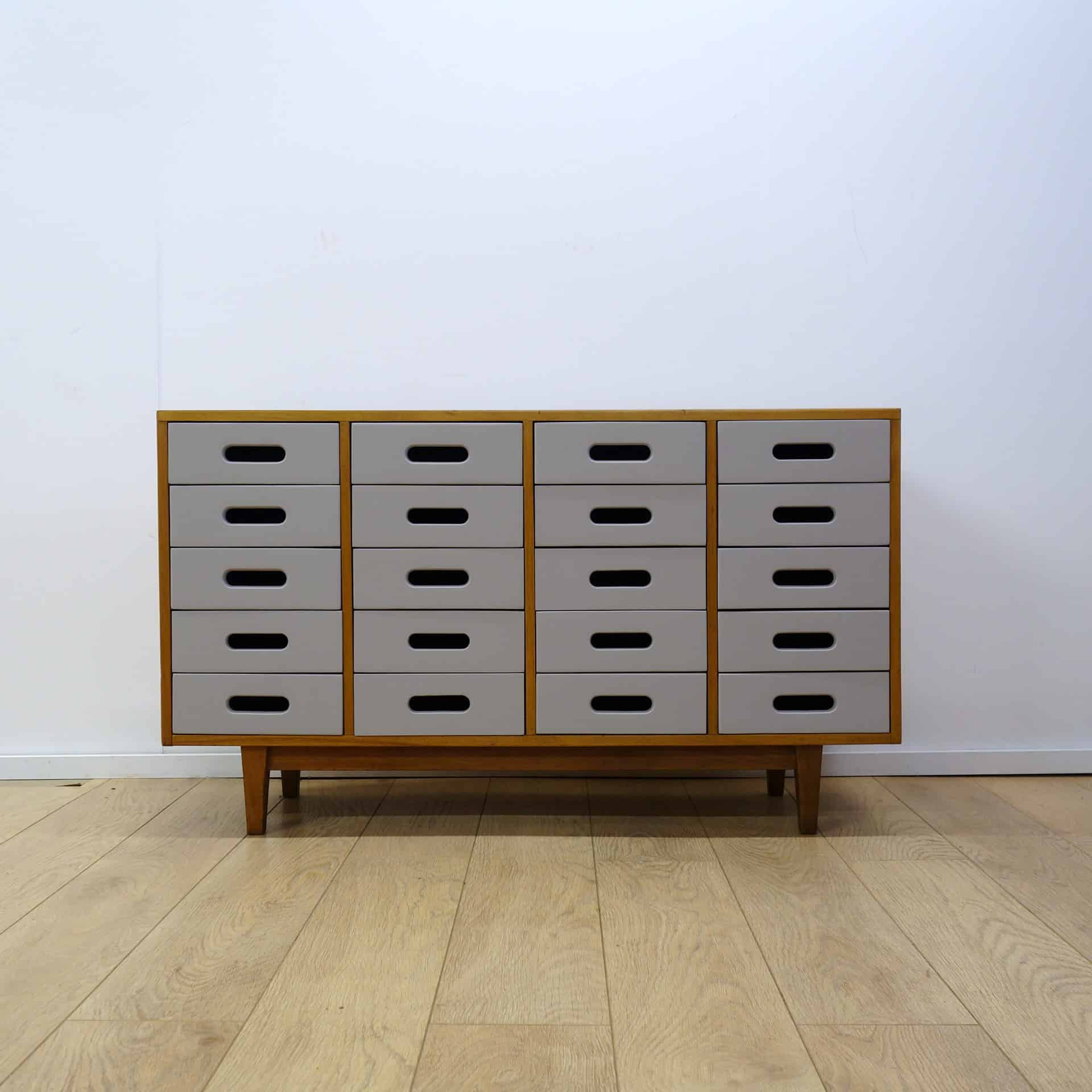 1950s Esavian School chest by James leonard
