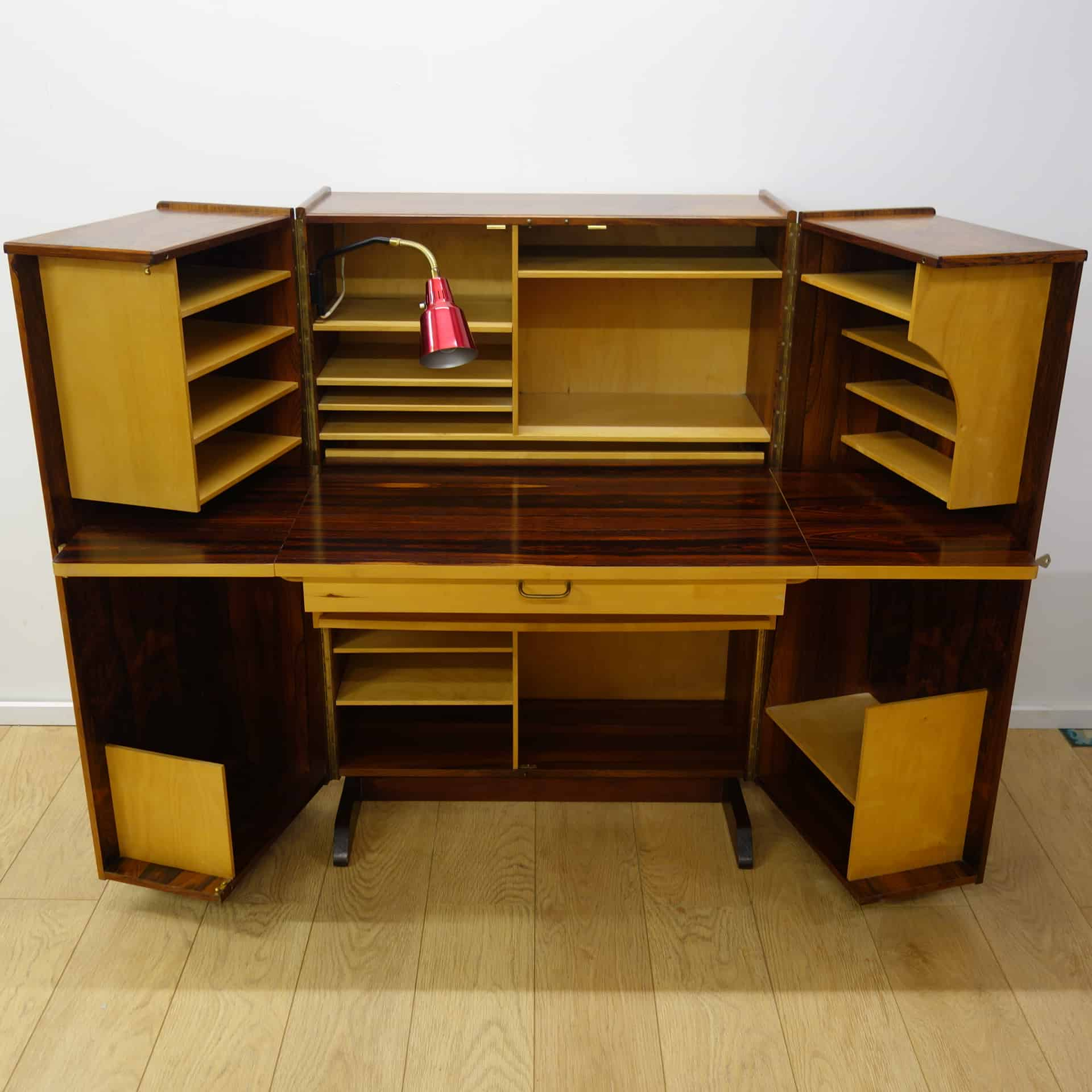 Rosewood Magic Box Desk By Pfieffer Norway Mark Parrish