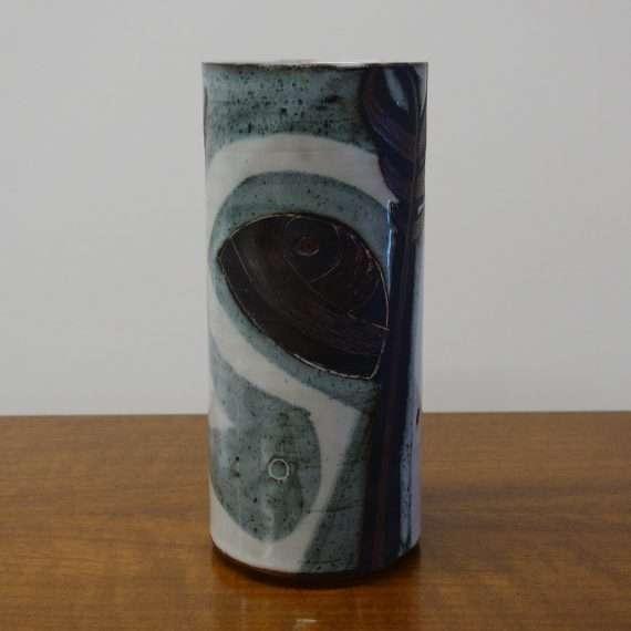 1960s Briglin studio vase