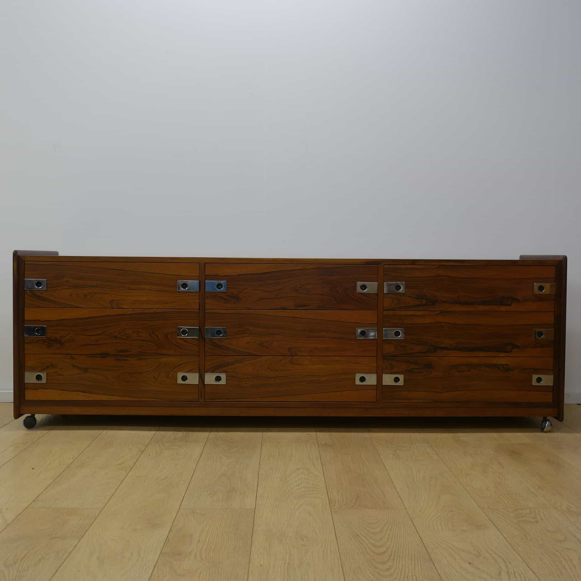 long low rosewood chest