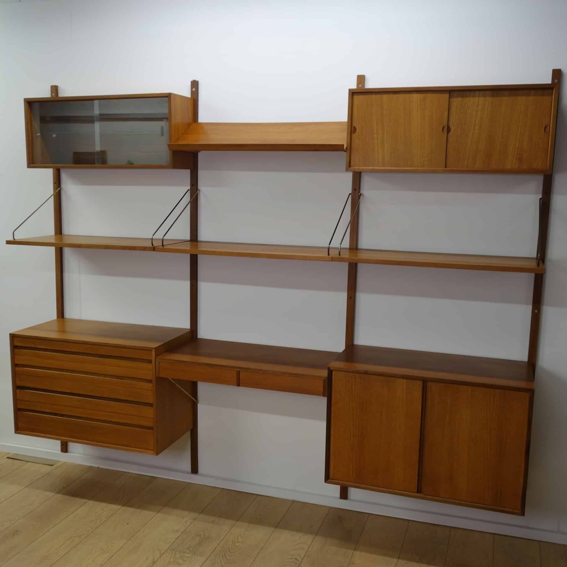 Danish Royal teak storage unit by Cado