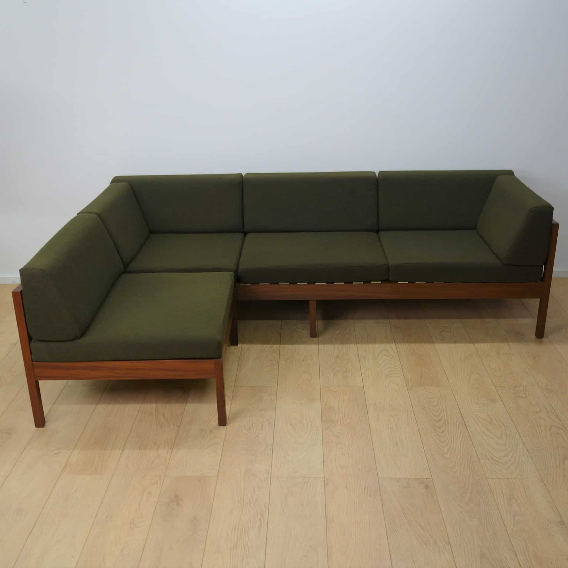 3 seater sofa & 2 chairs by Guy Rogers
