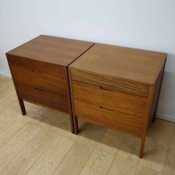 Small bedroom chests by Richard Hornby for Fyne layde