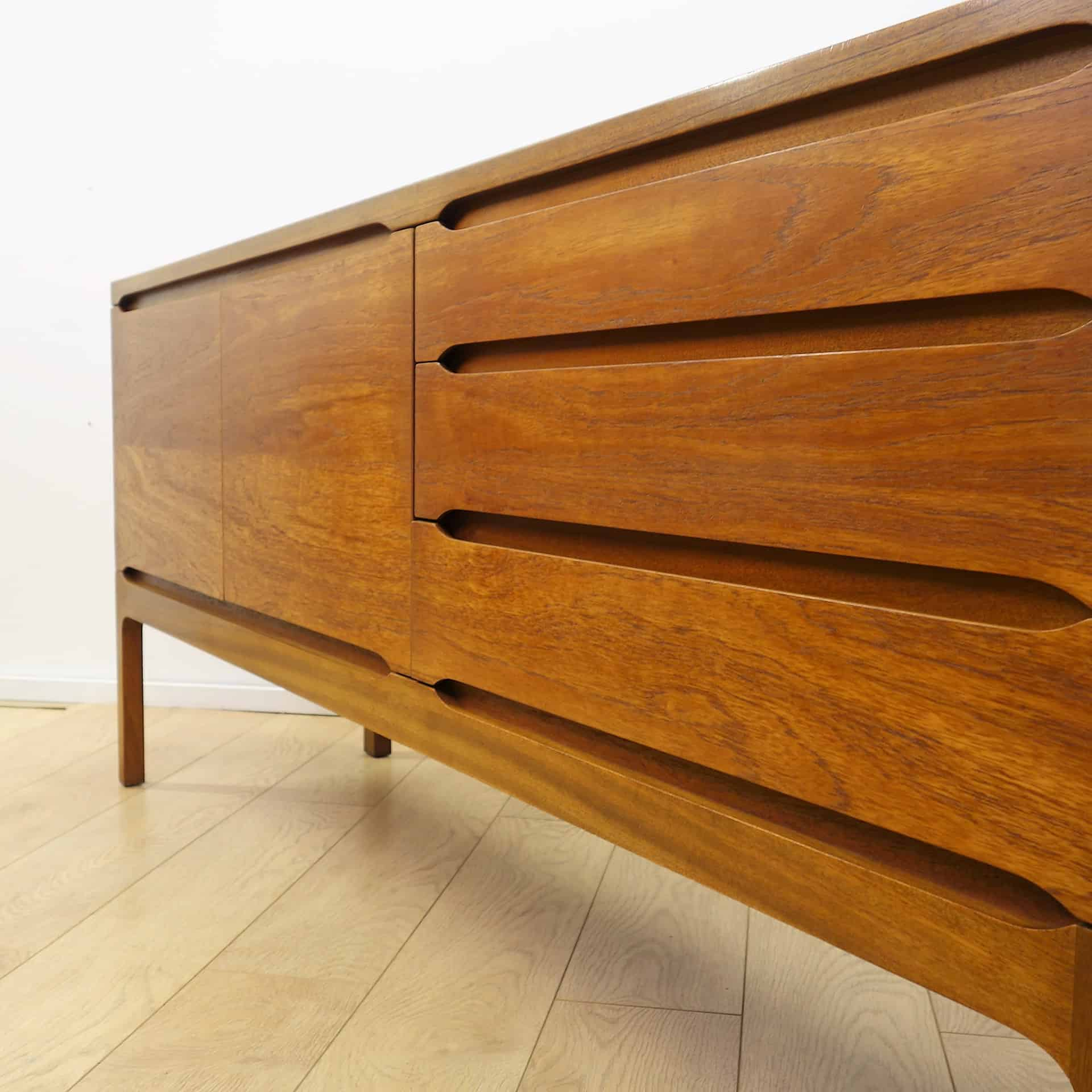 1960s British teak sideboard