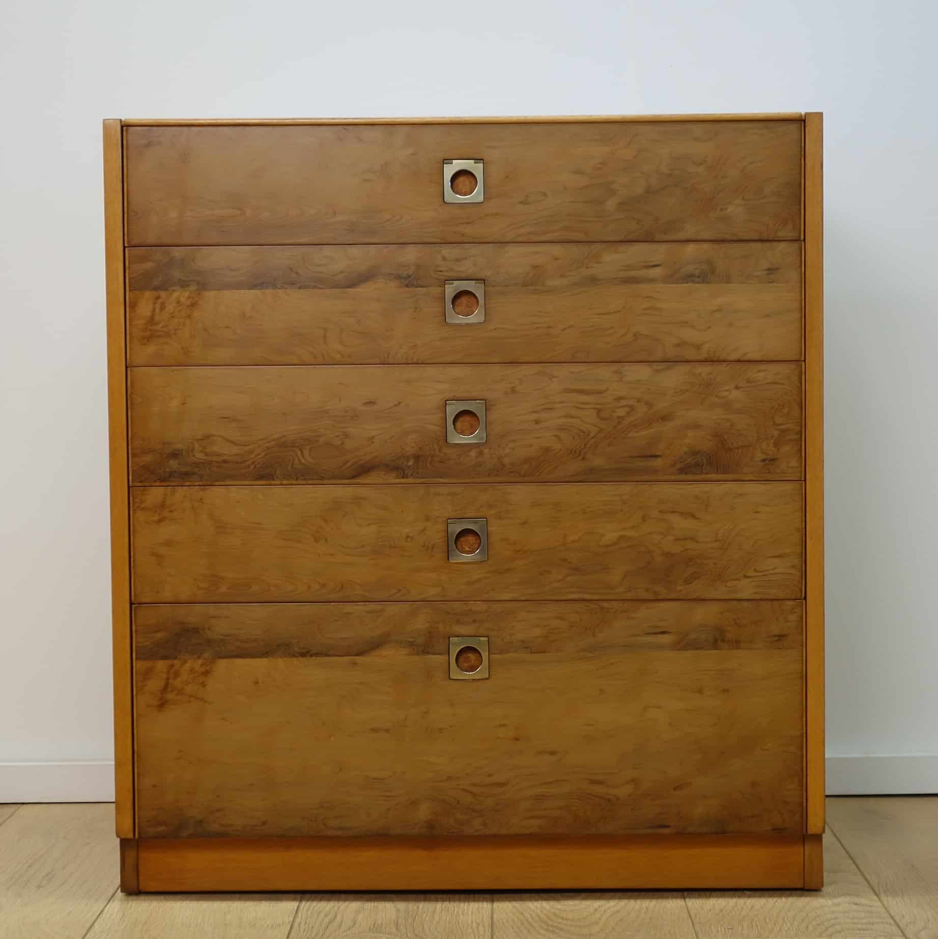 60s chest of drawers