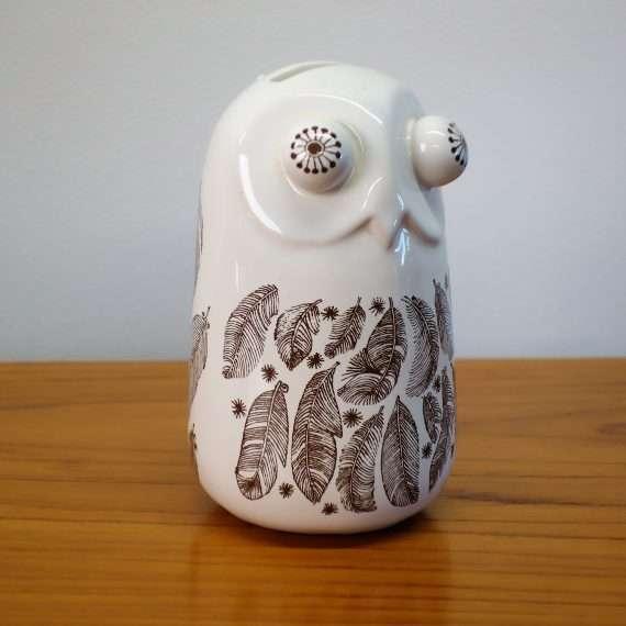 1970s Carlton ware owl money box