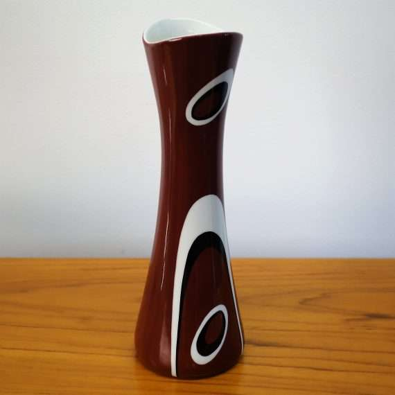 1960s abstract vase by Cmielow Poland