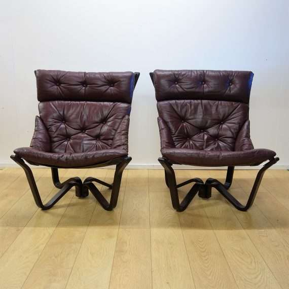1970s Viking chairs for Brunstad Norway