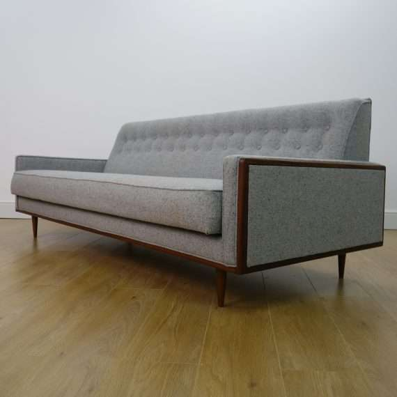 1960s teak sofa bed by G plan